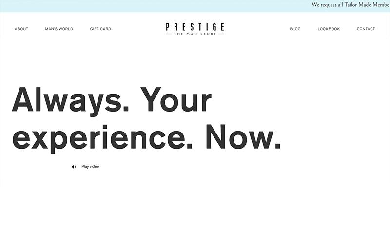 Prestige The Man Store