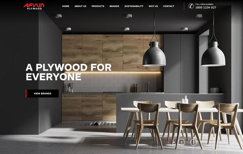 Afyun Plywood CMS Website